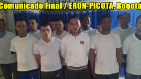 Comunicado Final, ERON-PICOTA, Bogotá