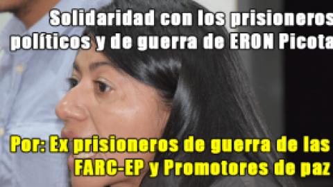Solidaridad con los prisioneros políticos y de guerra de ERON Picota