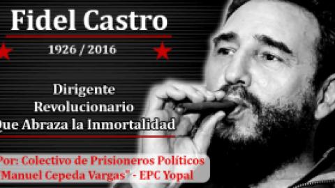 Fidel Castro: Dirigente Revolucionario Que Abraza la Inmortalidad