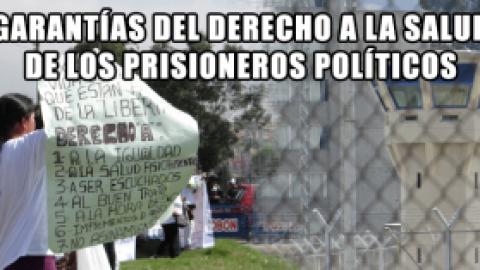 GARANTÍAS DEL DERECHO A LA SALUD DE LOS PRISIONEROS POLÍTICOS