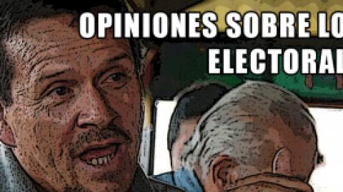 OPINIONES SOBRE LO ELECTORAL