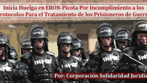ioneros de Las FARC-EP Inician Huelga en Patio de Extraditables