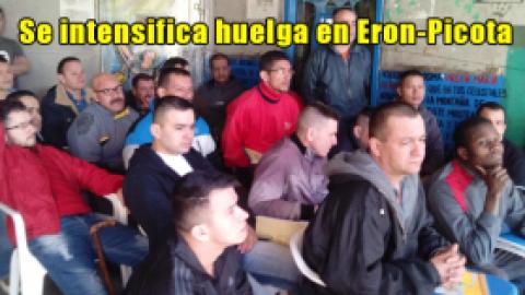 Se intensifica huelga en Eron-Picota