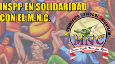 INSPP EN SOLIDARIDAD CON EL MNC