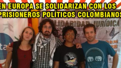 EN DORTMUND, ALEMANIA COMUNISTAS Y ORGANIZACIONES SOCIALES DE EUROPA SE SOLIDARIZAN CON LOS PRISIONEROS POLÍTICOS COLOMBIANOS