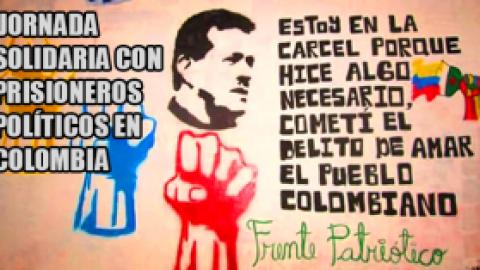 JORNADA SOLIDARIA CON PRISIONEROS POLÍTICOS EN COLOMBIA