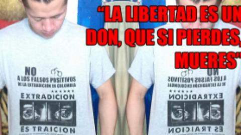 """La libertad es un don, que si pierdes, mueres"""