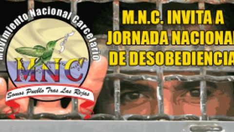 M.N.C. INVITA A LA JORNADA NACIONAL DE DESOBEDIENCIA
