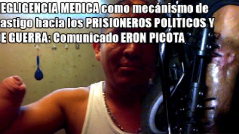 NEGLIGENCIA MEDICA COMO CASTIGO A LOS PRISIONEROS POLITICOS Y DE GUERRA