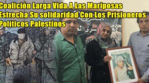 Coalición Larga Vida A Las Mariposas Estrecha Su solidaridad Con Los Prisioneros Políticos Palestinos