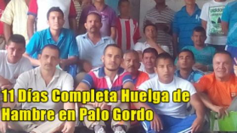 11 Días Completa Huelga de Hambre en Palo Gordo