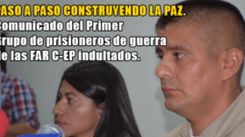 EN LIBERTAD PRIMER GRUPO DE INDULTADOS POR EL GOBIERNO COLOMBIANO