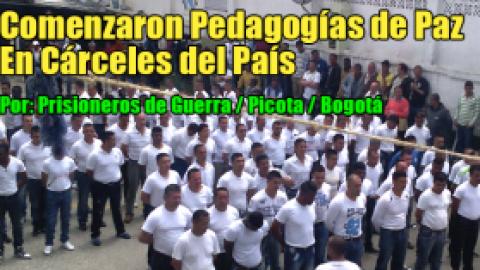 Comenzaron Pedagogías de Paz En Cárceles del País