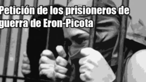 Petición de los prisioneros de guerra de Eron-Picota