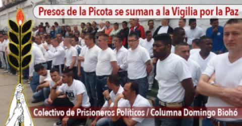Presos de la Picota se suman a la Vigilia por la Paz