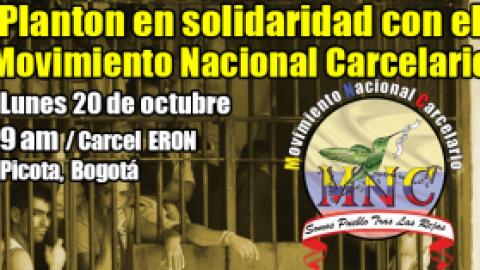 LANTON Y JORNADA DE PROTESTA DEL MOVIMIENTO NACIONAL CARCELARIO