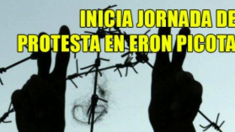 INICIA JORNADA DE PROTESTA EN ERON PICOTA