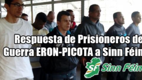 Respuesta de Prisioneros de Guerra ERON-PICOTA a Sinn Féin