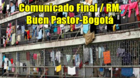 Comunicado Final / RM, Buen Pastor-Bogotá