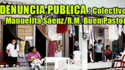 DENUNCIA PUBLICA < R.M. Buen Pastor