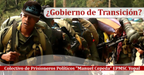 ¿Gobierno de Transición?