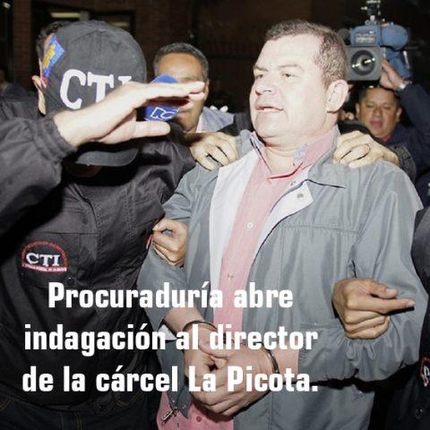 Procuraduría abre indagación al director de la cárcel La Picota