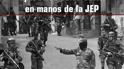 Los testimonios de la Operación Orión están en manos de la JEP